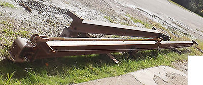 1 Used 1 Ton 21x12 Wall Mounted Jib Crane Wcm Series 633 Trolley