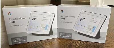 NEW & SEALED: Google Nest Hub Smart Home Video Assistant - Charcoal (GA00515-US)