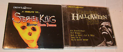 THEMES & HALLOWEEN COSTUME PARTY MUSIC CD HITS FREE S/H (Halloween-party Movie Themes)