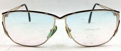 Vintage Laura Biagiotti Women's Black/Gold Reading Glasses Blue/Pink (Gold Glasses For Women)