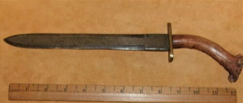 FUR TRADE KNIFE BLADE MADE FROM A FILE