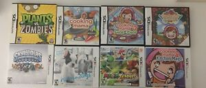 DS AND 3DS GAMES