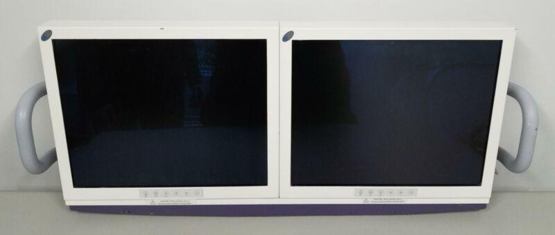 GE OEC 2800 Uroview Dual LCD Monitors NC-SX18-A1403