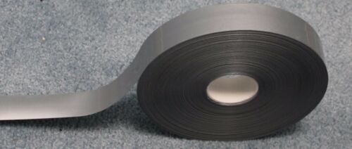 SILVER RETRO REFLECTIVE TAPE iron on trim