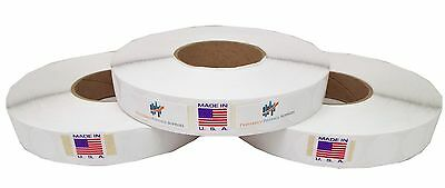 White 1wafer Tab Seal 5000 Tabs Per Roll Save Big 3 Roll Per Box Usps Approved