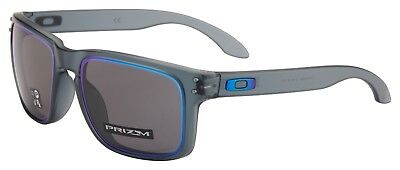 Oakley Holbrook Sunglasses OO9102-G955 Crystal Black | Prizm Grey | Fire and Ice