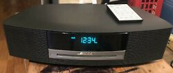 BOSE Wave Music System CD Player Radio Alarm Clock + Remote / Works Perfect NICE