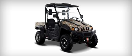 HISUN PQV-500UTV-3 DELUX SIDE BY SIDE Campbelltown Campbelltown Area Preview