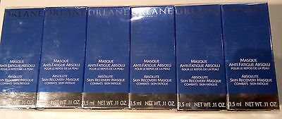 Orlane Absolute Skin Recovery MASQUE(.11 fl oz ea) NIB TOTAL 1.2 FL OZ-LOT OF - Orlane Skin Mask