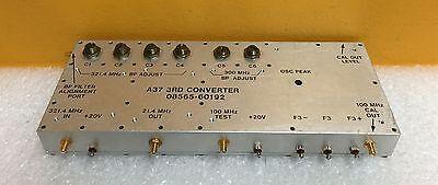 Hp Agilent 08565-60192 A37 3rd Converter. For 8565a 8569b Spectrum Analyzers.