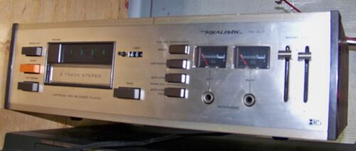 Realistic TR-801 8 Track Recorder/Player