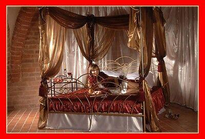 Klasisches handgschmiedetes doppel Himmelbett Wiking 180 x 200 + Lattenrost!! gebraucht kaufen  Versand nach Germany