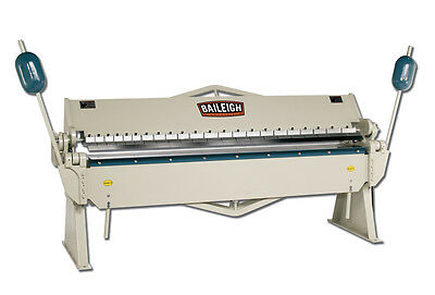 Baileigh Bb-9612 8 Length 12 Gauge Box Pan Brake