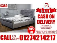 single double king size sleigh LEATHER N dlvan base bedding