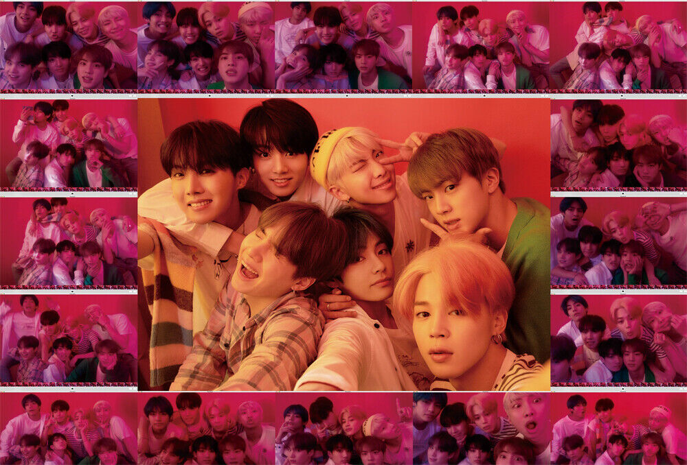 BTS MAP OF THE SOUL:PERSONA Album CD+POSTER+2ea P.Book+2p Card+Film+GIFT SEALED