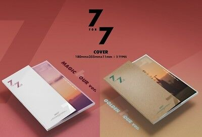 K-POP GOT7 7 for 7 [Random Ver.] CD+Booklet+3p Photocard+Lyrics Book Sealed