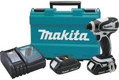 Nib Makita Lxdt04cw 18v Cordless Impact Driver Kit