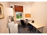 large warm back office room to let