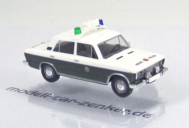 """Busch 50561 LADA 1600  Limousine  """" Volkspolizei Schlussfahrzeug """" DDR"""