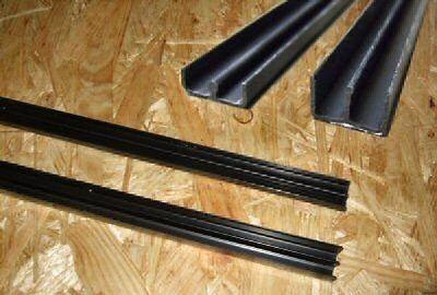 Glasführungsprofil E-Profile Rester Sonderpreis 10x35cm / 25x35cm / 50x35cm