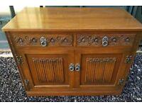 Old Charm, Medium Oak Sideboard