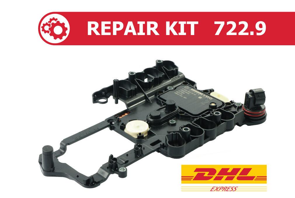 Mercedes 7G Tronic 722.9 Transmission Control Module TCM Conductor Plate Repair