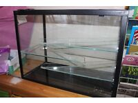 Glass gerbil cage