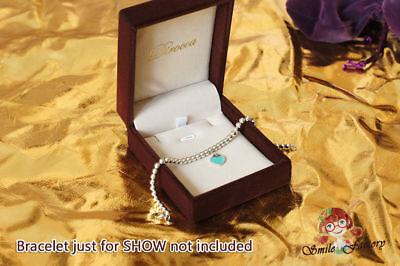 Luxury Velvet Plush Jewelry Packaging Bracelet Gift Box Wedding Favour 3.4x2.8
