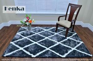 Nouveau tapis shag vente de la livraison gratuite! / Brand New Handmade Shag Rug Sale Free Delivery!