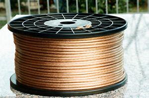 Cavo-diffusori-6mmq-rame-OFC-OFC-copper-speaker-cable-NUOVO-NEW