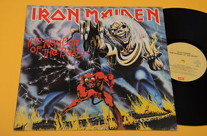 IRON-MAIDEN-LP-NUMBER-OF-ORIG-ITALY-1982-EX-HARD-ROCK-METAL