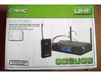 CITRONIC MU16N UHF WIRELESS 16-CHANNEL NECKBAND SYSTEM