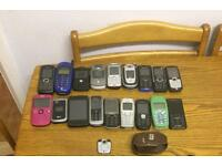Job lot mobile phones all spares or repairs