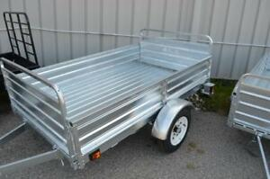 New Utility Trailers - Mighty Multi Galvanized or Steel 5x7 and 4x6 Steel Utility Trailers Available!