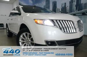 2014 Lincoln MKX | AWD, CUIR, TOIT, NAVIGATION, 8 ROUES