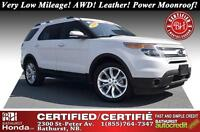 2014 Ford Explorer Limited Best Value in Maritimes! Very Low Mil