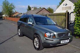 2008 (08) Volvo XC90 D5 185bhp Estate 4x4, 7 Seats, Manual Gearbox, Long MOT, FSH