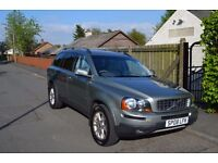 2008 (08) Volvo XC90 D5 185bhp Estate 4x4, 7 Seats, Manual Gearbox, Long MOT, FSH