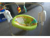 Fisher Price Rainforest Swing - excellent condition - can deliver