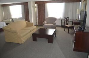 DESIGN YOUR CONDO OR HOUSE WITH 4 AND 5 STAR HOTELS FURNITURE@SOURCE LIQUIDATIONS, 3105 DIXIE RD.