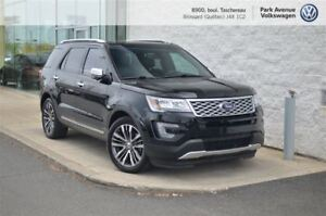 2016 Ford Explorer Platinum + *Pneus d'hiver INCLUS!*