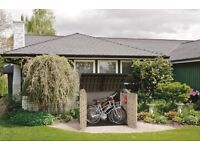 Bike shed- storage shed Keter