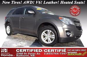 2012 Chevrolet Equinox 2LT AWD Certified! New Tires! AWD! V6! Le