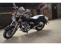 keeway superlight 125cc cruiser style learner legal motorcycle