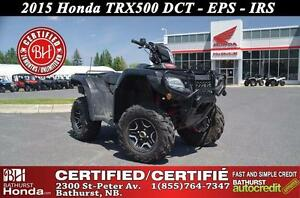 2015 Honda TRX500 Rubicon Deluxe - DCT VERY LOW MILEAGE! Mag Whe