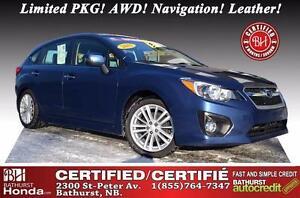 2013 Subaru Impreza 2.0i AWD WOW!! Limited PKG! AWD! Low mileage