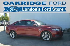 2013 Ford Taurus ALL WHEEL DRIVE, HEATED LEATHER TRIMMED SEATS,