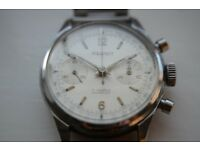 Pierpont manual wind mechanical chronograph wristwatch - Swiss - Vintage '50s/'60s