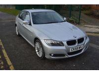 3M GOLD WARRNTY,PARKNG SNSR,2009 BMW 320D SE 2.0,AUTO,DIESEL,SILVER,17''ALLOY,LEATHER SEAT,HPI CL