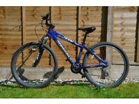 """Specialised Hardrock 2003 15"""" frame (blue) 24 gears - mountain bike"""